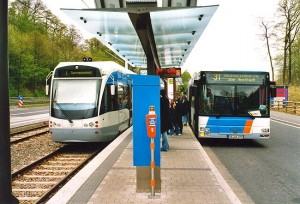Rail or bus -- guess which one the public likes more?