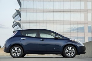 The 2016 Nissan LEAF